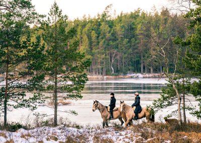 Turridning på Ösjönäs, foto: Jesper Anhede