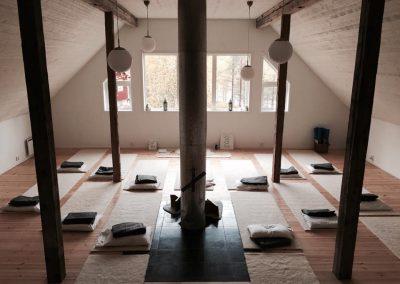 yoga på Ösjönäs